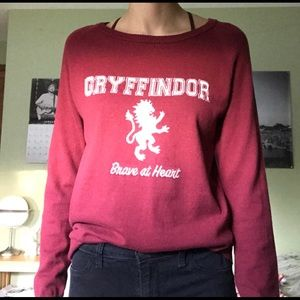 Harry Potter Maroon Griffindor sweater